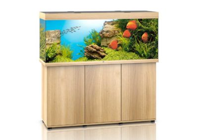 Juwel Aquarium Rio 450 helles Holz