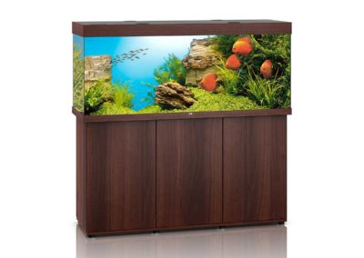 Juwel Aquarium Rio 450 dunkles Holz