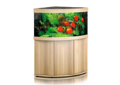 Juwel Aquarium Trigon 350 helles Holz