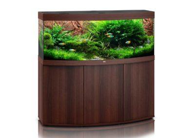 Juwel Aquarium Vision 450 dunkles Holz